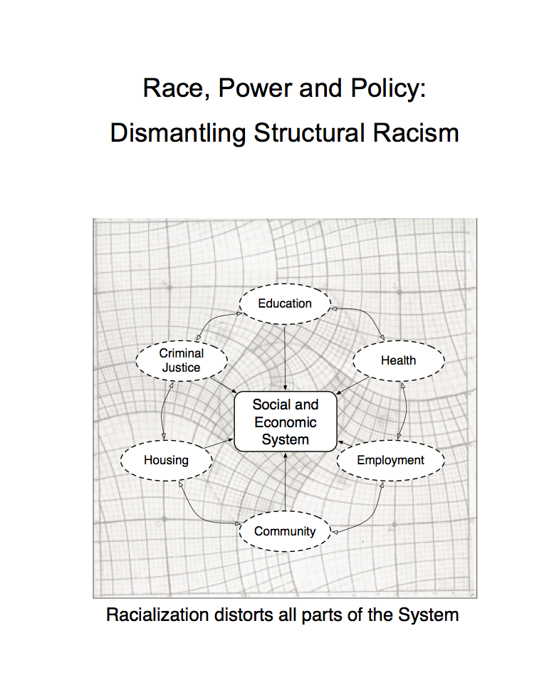 Race, Power, and Policy: Dismantling Structural Racism